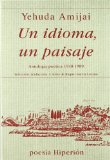 Portada de UN IDIOMA, UN PAISAJE: ANTOLOGIA POETICA, 1948-1989