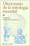 Portada de DICCIONARIO DE LA MITOLOGIA MUNDIAL