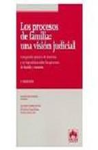 Portada de LOS PROCESOS DE FAMILIA: UNA VISION JUDICIAL: COMPENDIO PRACTICO DE DOCTRINA Y JURISPRUDENCIA