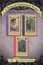 Portada de A SERIES OF UNFORTUNATE EVENTS COLLECTION: BOOKS 4-6
