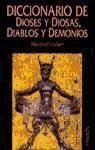 Portada de DICCIONARIO DE DIOSES Y DIOSAS, DIABLOS Y DEMONIOS