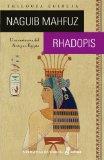 Portada de RHADOPIS: UNA CORTESANA DEL ANTIGUO EGIPTO