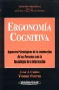 Portada de ERGONOMIA COGNITIVA: ASPECTOS LEGALES DE LA INTERACCION DE LAS PERSONAS CON TEGNOLOGIA DE INFORMACION