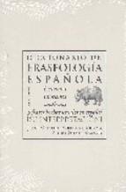 Portada de DICCIONARIO DE FRASEOLOGIA ESPAÑOLA