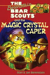 Portada de THE BERENSTAIN BEARS CHAPTER BOOK: THE MAGIC CRYSTAL CAPER