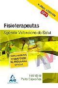 Portada de FISIOTERAPEUTAS DE LA AGENCIA VALENCIANA DE SALUD. TEST DE LA PARTE ESPECIFICA