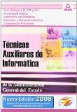 Portada de TECNICOS AUXILIARES DE INFORMATICA: TEST DE LOS BLOQUES II, III YIV Y SUPUESTOS PRACTICOS