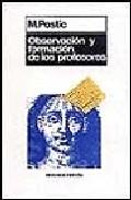 Portada de OBSERVACION Y FORMACION DE LOS PROFESORES