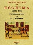 Portada de ANTIGUOS TRATADOS DE ESGRIMA (ED. FACSIMIL)