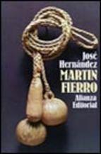 Portada de MARTIN FIERRO