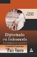 Portada de DIPLOMADO EN ENFERMERIA  DE LA ADMINISTRACION GENERAL DE LA COMUNIDAD AUTONOMA DEL PAIS VASCO