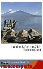 Portada de HANDBOOK FOR THE SHIP`S MEDICINE CHEST