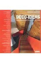 Portada de DECO-IDEAS: INSPIRACIONES PARA EL HOGAR