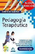 Portada de CUERPO DE MAESTROS: PEDAGOGIA TERAPEUTICA, ESTRATEGIA PARA LA RESOLUCION DE SUPUESTOS PRACTICOS. EXAMENES RESUELTOS