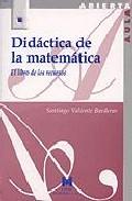 Portada de DIDACTICA DE LA MATEMATICA