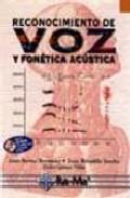 Portada de RECONOCIMIENTO DE VOZ Y FONETICA ACUSTICA