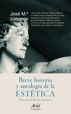 Portada de BREVE HISTORIA Y ANTOLOGÍA DE LA ESTÉTICA