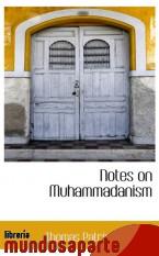 Portada de NOTES ON MUHAMMADANISM