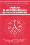 Portada de ENSEÑANZA DE LAS CIENCIAS SOCIALES EN EDUACION SECUNDARIA