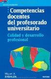Portada de COMPETENCIAS DOCENTES DEL PROFESORADO UNIVERSITARIO: CALIDAD Y DESARROLLO PROFESIONAL
