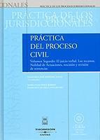 Portada de PRÁCTICA DEL PROCESO CIVIL. TOMO I, VOLUMEN 2ª