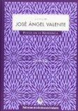 Portada de LA VOZ DE JOSE ANGEL VALENTE