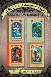 Portada de A SERIES OF UNFORTUNATE EVENTS COLLECTION: BOOKS 10-13
