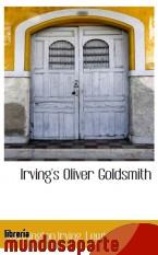 Portada de IRVING`S OLIVER GOLDSMITH