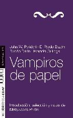 Portada de VAMPIROS DE PAPEL