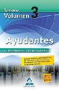 Portada de AYUDANTES DE INSTITUCIONES PENITENCIARIAS. TEMARIO. VOLUMEN III