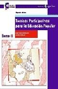 Portada de TECNICAS PARTICIPATIVAS PARA LA EDUCACION POPULAR