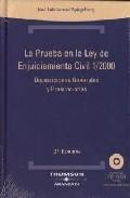 Portada de PRUEBA LEY ENJUICIAMIENTO CIVIL 1/2000