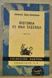 Portada de HISTORIA DE UNA TABERNA