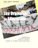 Portada de LEY ORGANICA DE EDUCACION