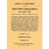 Portada de EL GITANO CABALISTA, MISTERIOS DE LA LOTERIA PRIMITIVA