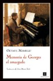 Portada de MEMORIA DE GEORGES EL AMARGADO