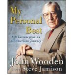Portada de [(MY PERSONAL BEST: LIFE LESSONS FROM AN ALL-AMERICAN JOURNEY)] [BY: JOHN R. WOODEN]