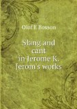 Portada de SLANG AND CANT IN JEROME K. JEROM'S WORKS