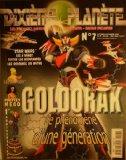 Portada de DIXIÈME PLANÈTE N° 7 - JUIN-JUILLET 2000 - GOLDORAK / STAR WARS X-WINGS / SIMPSON / POUPÉES MEGO
