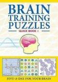 Portada de (BRAIN TRAINING PUZZLES: QUICK BOOK 1) BY CARLTON BOOKS LTD (AUTHOR) PAPERBACK ON (09 , 2009)
