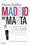 Portada de MADRID ME MARTA