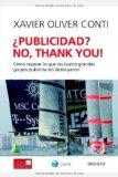 Portada de ¿PUBLICIDAD?: NO, THANK YOU!