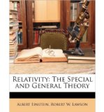 Portada de [( RELATIVITY: THE SPECIAL AND GENERAL THEORY )] [BY: ALBERT EINSTEIN] [MAR-2010]