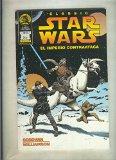 Portada de CLASSIC STAR WARS NUMERO 3: EL IMPERIO CONTRAATACA