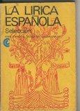 Portada de BIBLIOTECA BASICA UNIVERSAL NUMERO 047: LA LIRICA ESPAÑOLA