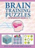 Portada de (BRAIN TRAINING PUZZLES INTERMEDIATE BOOK 2) BY CARLTON BOOKS (AUTHOR) PAPERBACK ON (09 , 2009)