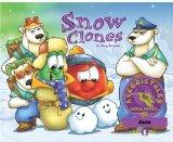 Portada de SNOW CLONES - VEGGIETALES MISSION POSSIBLE ADVENTURE SERIES #5: PERSONALIZED FOR JASE