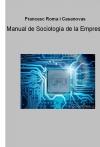 Portada de MANUAL DE SOCIOLOGÍA DE LA EMPRESA