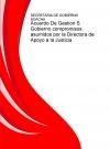 Portada de ACUERDO DE GESTION S GOBIERNO COMPROMISOS ASUMIDOS POR LA DIRECTORA DE APOYO A LA JUSTICIA
