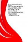 Portada de PUNTOS IMPORTANTES PARA ELABORAR SU DECLARACIÓN DE RENTA AÑO 2010 PERSONAS NATURALES Y SUCESIONES ILIQUIDAS COLOMBIA